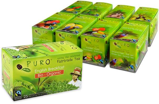 Tea Puro Fairtrade Organic